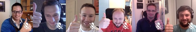 Our remote team